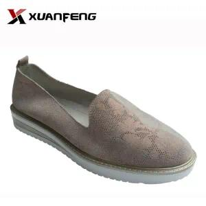 Popular Women′s Genuine Leather Comfortable Leisure Casual Shoes