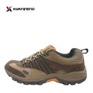 Fashion Men Hiking Shoes Trekking Shoes Cow Suede Leather