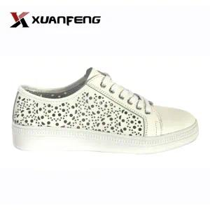 New Fashion Action Leather Casual Women Shoes with Rb Sole