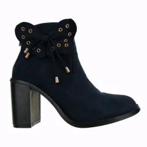 Fashion Woman Winter Heeled Ankle Boots