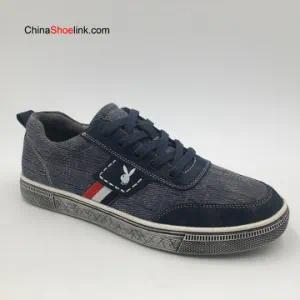 Wholesale High Quality Men Genuine Leather Sneakers Shoes