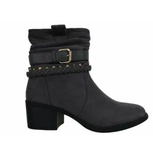 2018 Fashion Ladies Winter Heeled Ankle Boots