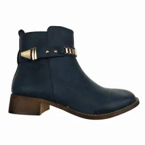 Fashion Lady Flat Ankle Winter Boots