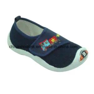 China Fashion Child Casual Injection Canvas Shoes Supplier